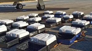 Polícia Federal apreende 1,3 tonelada de cocaína em jato executivo no Ceará