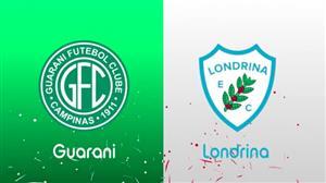 RedeTV! transmite ao vivo Guarani x Londrina neste sábado (29) às 16h30