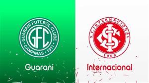 RedeTV! transmite ao vivo Guarani e Internacional neste sábado (5)