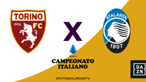 RedeTV! transmite ao vivo Torino x Atalanta às 16h30 deste sábado (25)