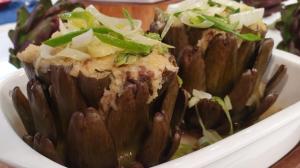 Convidada de Edu Guedes ensina receitas com alcachofra