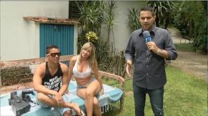 Repórter acompanha um dia inteiro de gravação de vencedora de reality pornô