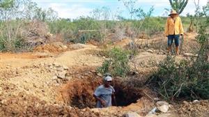 Em busca de ouro, garimpeiros lutam por sobrevivência no interior da Bahia