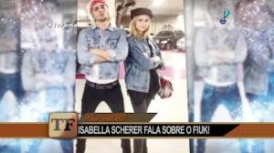 """Isabella Scherer brinca sobre relacionamento com Fiuk: """"Não consigo fugir"""""""