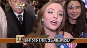 Briga entre ex e atual de Larissa Manoela dá o que falar