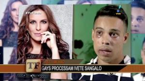 Casal gay processa Ivete Sangalo após ser agredido em show da cantora