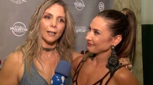 Carla Perez se emociona em reencontro nos palcos com Scheila Carvalho