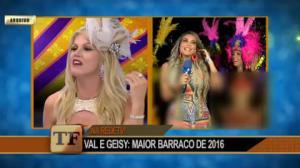 Geisy Arruda e Val Marchiori tiveram uma das piores brigas do Carnaval