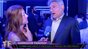 Cléber Machado diz que continua na Globo:
