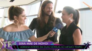 Adriana Esteves descarta pressão para repetir sucesso de Carminha