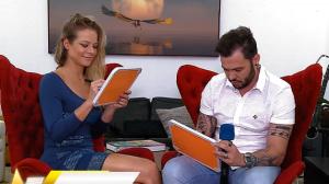 Jackeline Petkovic e Bruno Araújo participam de game de casal