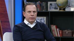 João Doria se diz contra a taxação de grandes fortunas, lucros e dividendos
