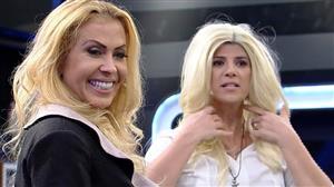 """Joelma ensina passos de dança para Mariana Godoy: """"Cabelo é importante"""""""