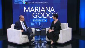"""""""Pretendemos reduzir os impostos"""", garante o presidenciável Geraldo Alckmin"""