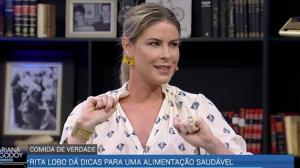 """""""Quando as pessoas se afastam da cozinha a obesidade cresce"""",diz Rita Lobo"""