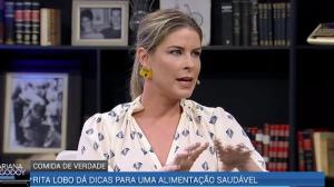 """""""Comida pronta estraga a saúde e virou problema no mundo"""", afirma Rita"""