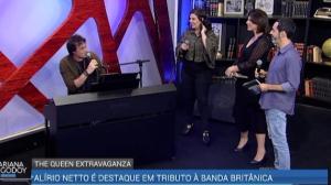 Mariana Godoy recebe brasileiro de turnê em tributo oficial a Queen