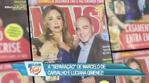 Separação de Marcelo de Carvalho e Luciana Gimenez é mentira