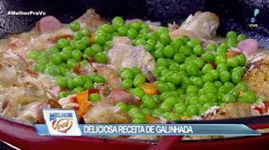 Edu Guedes mostra como fazer uma galinhada fácil