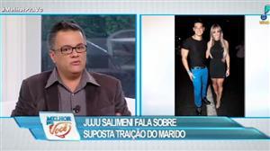 Juju Salimeni fala sobre suposta traição do marido