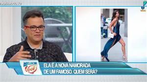 Modelo portuguesa namora famoso brasileiro