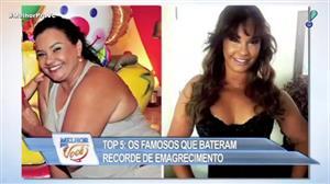 Confira o Top 5 de famosos que perderam peso