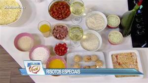 Edu Guedes ensina receita fácil de risoto