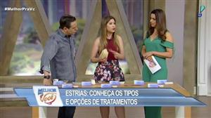Andressa Ganacin dá dicas de como combater as estrias