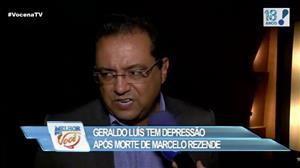 Geraldo Luís diz que entrou depressão após morte de Marcelo Rezende