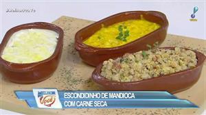Receita do Edu ensina a preparar feijão tropeiro e bobó de camarão