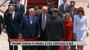 Trump viaja a Israel e faz críticas ao Irã