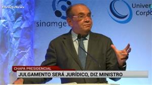 """Gilmar Mendes: """"Julgamento de chapa presidencial não pode resolver crise"""""""