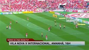 Internacional encara o Vila Nova neste sábado e RedeTV! transmite
