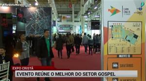 Começa em São Paulo exposição cristã; RedeTV! marca presença no evento