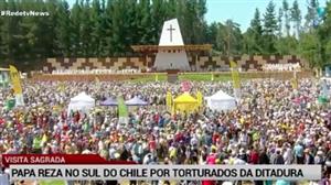 Papa reza missa no Chile por torturados de ditadura de Pinochet