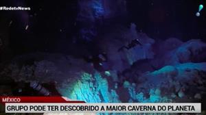 Mergulhadores podem ter descoberto a maior caverna submersa do mundo