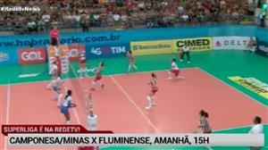 RedeTV! transmite Camponesa/Minas x Fluminense neste sábado