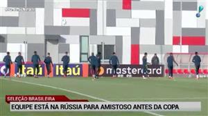 Brasil já está na Rússia para amistoso contra os donos da casa na sexta