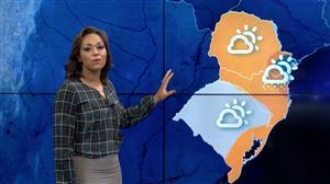 Domingo será gelado na Região Sul do país