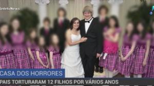 Casal é julgado por manter 12 filhos acorrentados nos EUA