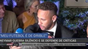 """Neymar quebra silêncio e se defende de críticas: """"Meu futebol é de drible"""""""