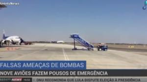 Nove aviões fazem pousos de emergência após falsa ameaça de bomba no Chile
