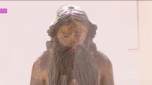 Peça sacra do século XVIII perdida é encontrada e passa por recuperação
