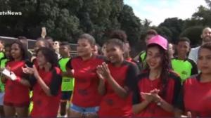 Projeto em parceria com a DAZN ajuda a divulgar o futebol feminino no Piauí