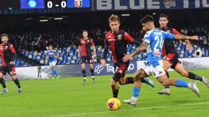 Napoli e Genoa empatam no Campeonato Italiano