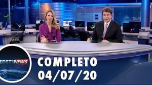 Assista à íntegra do RedeTV News de 4 de julho de 2020
