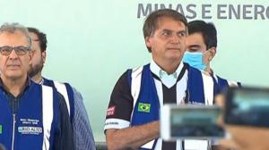 Bolsonaro inaugura usina fotovoltaica no interior da Paraíba