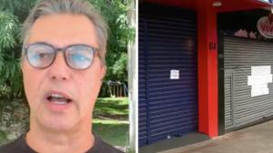 "Presidente da Abrasel critica lockdown e ""falta de transparência"""
