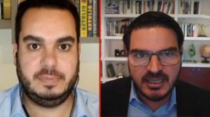 """Constantino e deputado debatem """"risco Lula"""" em 2022"""