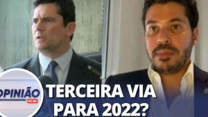 """Sérgio Moro no União Brasil? """"Nos sentiríamos honrados"""", diz deputado"""